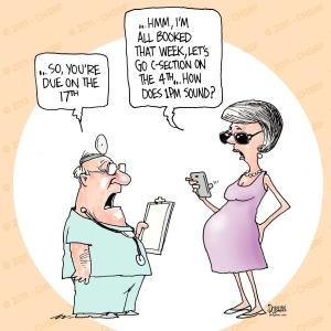 CSection Cartoon